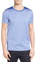 BOSS Men's Tessler Stripe Mercerized Cotton T-Shirt