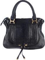 Chloé Large Marcie Python Bag