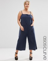 Asos Cami Jumpsuit with Culotte Leg and Pockets