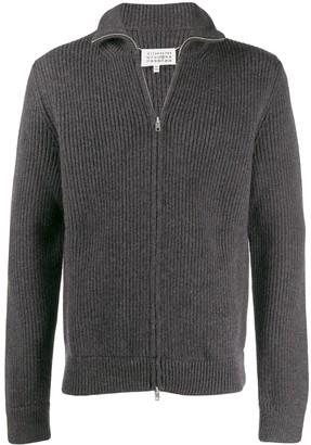Maison Margiela zipped sweatshirt