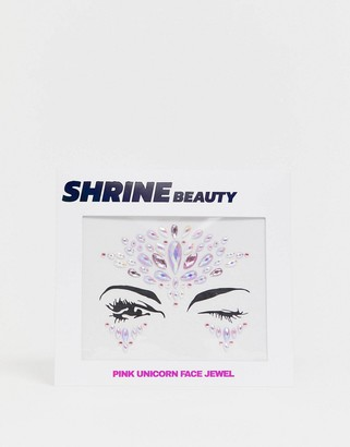 Shrine Pink Unicorn Face Jewels