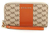 MICHAEL Michael Kors Jet Set Signature Travel Flat Multifunction Phone Wallet