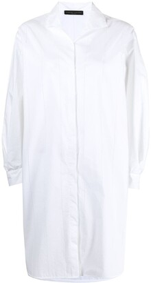 Fabiana Filippi North pinstriped shirt dress