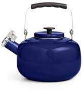 Martha Stewart Collection Martha Stewart Collection Blueberry 2-Qt. Enamel on Steel Tea Kettle