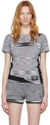 Missoni Adidas X adidas x Grey and White City Runners Unite T-Shirt