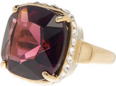 Cole Haan Cushion Cut Rhinestone & Embellished Bezel Ring - Size 7