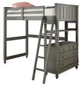 Hillsdale Kids and Teen Lake House Twin Loft Bed in Stone