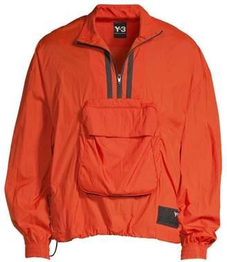 Y-3 Y 3 Packable Half-Zip Shell Track Jacket
