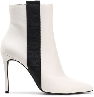 DKNY Ranita Leather Ankle Boots