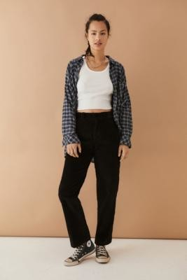 Dickies Black Elizaville Corduroy Trousers - Black 24 at Urban Outfitters