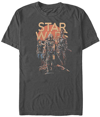 Fifth Sun Tee Shirts CHARCOAL - Star Wars Charcoal A Few Credits More Tee - Adult