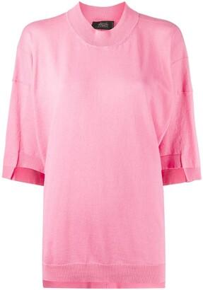 Maison Flaneur oversized short-sleeve T-shirt