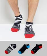 Pringle Trainer Socks In 3 Pack