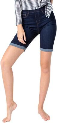 Liverpool Chloe Pull-On Bermuda Shorts