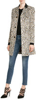 Just Cavalli Leopard Print Coat