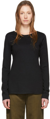 Raquel Allegra Black Ballet Long Sleeve T-Shirt