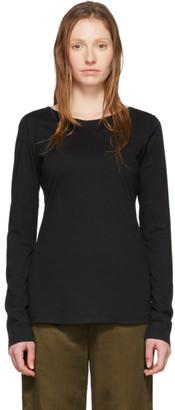 Raquel Allegra Black Ballet Long Sleeve T-Shirt