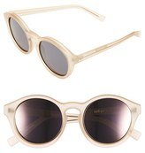 Le Specs Women's 'Edition Four' 51Mm Sunglasses - Matte Blush/ Gold