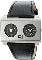 01 The One 01TheOne Unisex AN05MIR01S1 AN05 Dual Time Watch