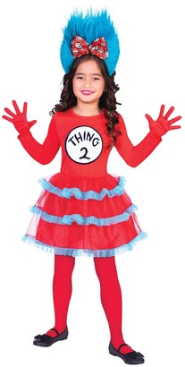 Dr. Seuss Thing 1 & 2 Tutu Dress