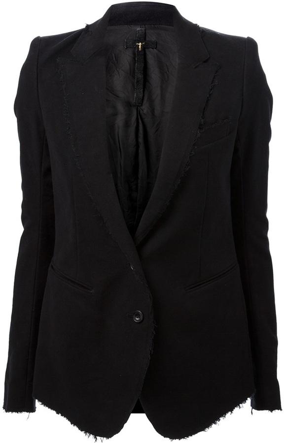LGB raw trim blazer