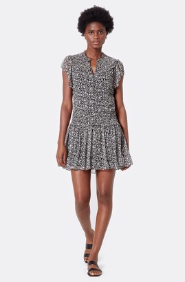 Joie Andric Silk Mini Dress