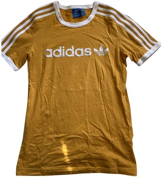 adidas Yellow Cotton Top for Women