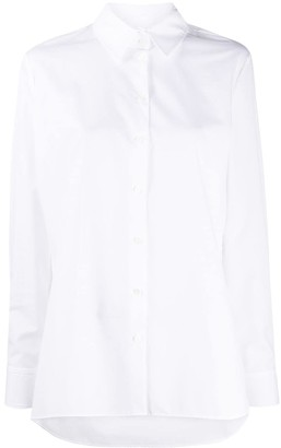 Karl Lagerfeld Paris Logo-Print Cotton Shirt