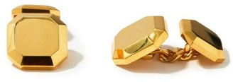 Shay Faceted 18kt Gold Cufflinks - Gold