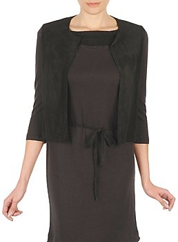 Majestic BERENICE women's Cardigans in Black