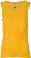 Emilio Pucci ribbed knitted tank - women - Polyester/Viscose - XS