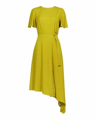Ted Baker Marniee Asymmetric D Ring Detail Dress