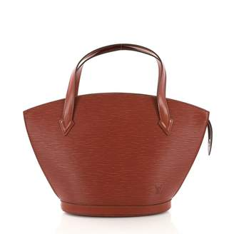 Louis Vuitton St Jacques Brown Leather Handbag