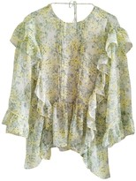 MANGO Green Top for Women