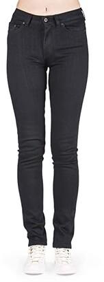 Naked & Famous Denim High Skinny - Black Power Stretch Jeans (Black Power Stretch) Women's Jeans