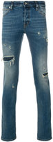 Just Cavalli ripped skinny jeans