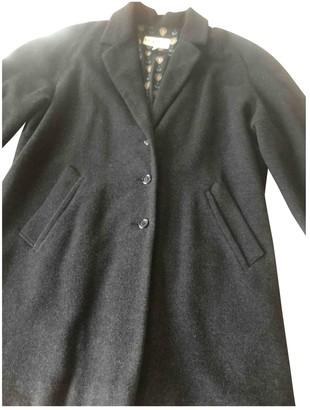 Byblos Grey Wool Coat for Women