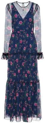Philosophy di Lorenzo Serafini Floral chiffon maxi dress