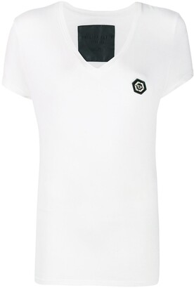 Philipp Plein V-neck stretch T-shirt