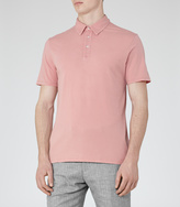 Reiss Stealth SHORT SLEEVE POLO SHIRT