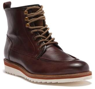 Vintage Foundry The Jimara Leather Faux Fur Lined Lace-Up Boot