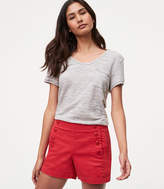 LOFT Sailor Riviera Shorts with 4 Inch Inseam