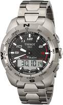 Tissot Men's T0134204420200 T Touch Expert Black Dial Watch