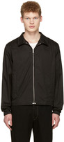 Lemaire Black Windbreaker Jacket