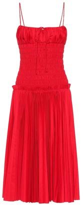 KHAITE The Delphine cotton poplin dress