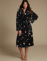 Marks and Spencer Printed Shimmer Dressing Gown