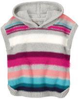 Gymboree Fuzzy Striped Poncho