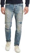 Polo Ralph Lauren Sullivan Slim-Fit Repaired Denim Jeans