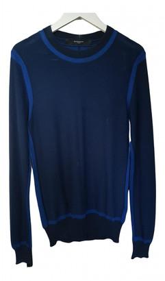 Givenchy Blue Cotton Knitwear & Sweatshirts