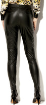 Vince Camuto Quilted Zipper Pant
